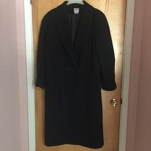 Liz Baker Long Wool Coat